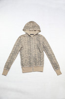 Cotton Polyester Waffle Jacket For Women