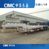 CIMC Best selling Lowboy/Low Bed Trailer Used For Excavator