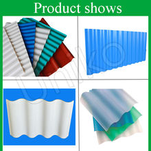 low price colorful white blue green red purple asa coated corrugated pvc roof tile/sheet for sale