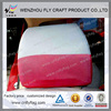 customized promotion, sport, advertisement car headrest cover