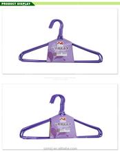 High quality fashion customized metal short cloth hanger