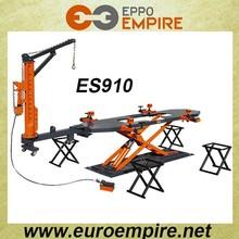 ES910 Collision Repair floor system on ground/CE car frame machine
