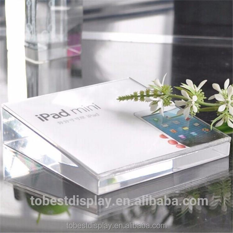 Acrylic glass block price price label holder acrylic block for Acrylic glass block