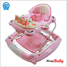 2015 popular good quality Car Baby Walker with wheels Baby Carrier Walker