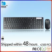 2.4g inalámbrico delgado del ratón del teclado