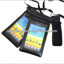 Newest hand phone pvc waterproof bag for beach for samsung