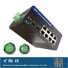 8 rj45 port and 2 SFP port Din-Rail managed POE industrial switch