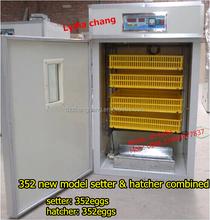 New Type ZH-352 chicken eggs incubator hatching machine/300 eggs incubator(Lydia: 0086.15965977837)
