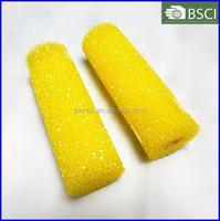 """ZJDH-0033 4"""" texture hollow sponge foam roller"""