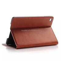 Tablet case cover super slim Flip pu folio leather case for ipad mini 4 , for ipad mini 4 folio case