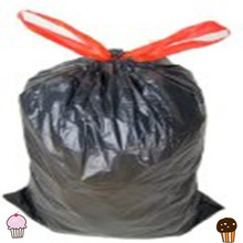 Good quality imported raw materials of plastic drawstring garbage bags