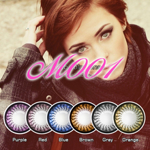 cool girls trend fashion color contact lenses circle cosmetic lens