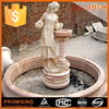 wholesale well polished beautiful beautiful hand carved wall fountain parts