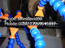 HDPE plastic spiral hose cable extrusion equipment
