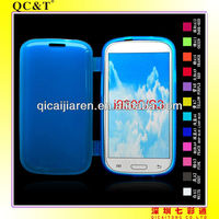 tpu case with cover for samsung galaxy s3/i9300