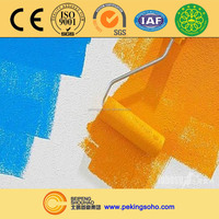 Advanced exterior wall emulsion paint