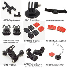 Action camera Accessory Kit Ultimate Combo Kit all accessories for all kinds of cation camera sport camera