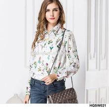 2015 <span class=keywords><strong>blusa</strong></span> de moda diseños de la mujer camisa de gasa