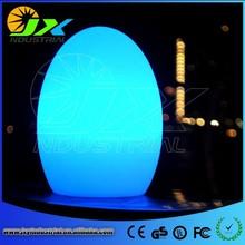 Led bar furniture/illuminated led egg light/led garden light/egg shaped led light