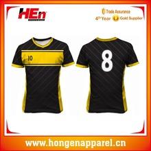 Hongen apparel New 2016 soccer jersey club team football jerseys football team kit