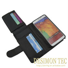2015 new products best sell leather wallet smart cover for Samsung Galaxy Note 3 N9000 N9005