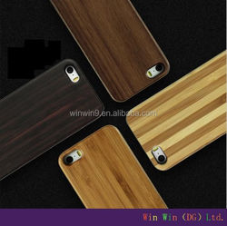 Real Wood phone case and PC wooden case for iphone 5, Black Walnut wooden case for iphone 5