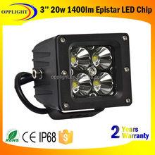 """New Popular!!! 3"""" 20W Square Cube Flush mount pods LED work lamp high power led worklight"""