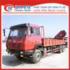SHACMAN 10 ton 12 ton telescopic boom truck with crane