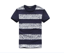 2015 new design mens yarn dyed t-shirt with 60% cotton 35% polyester 5% spandex men t-shirt alibaba express