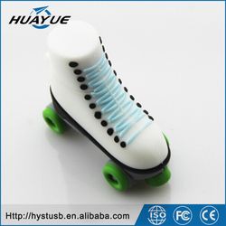 The wholesale Products of Skating Shoes Type Wrist USB 4/8/16/32/64gb flash Drive for gift