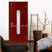 Hot sale design interior solid pine door