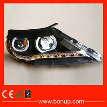 alibaba china supplier car modified led headlamp assembly for KIA Sportage