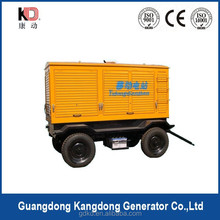 Trailer Diesel Sound Proof Generator / Diesel Silent Genset