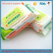 China free sample baby cleaning wet wipes