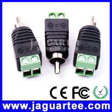 Super strong high voltage rca connector dc male female connector