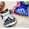 Wholesale New 2015 Dog Clothes Lovely Bones Summer Clothes For Dog Cotton Vest Clothing Pet Products Dog Product Adidog