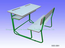Different Size School Table for Two with ISO9001 Certificate
