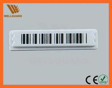 EAS AM anti-theft alarming label security anti-theft label with barcode or blank