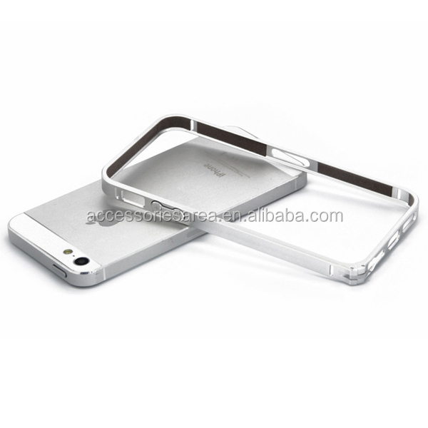 0.7mm Ultra thin Slim Aluminium Metal Bumper Frame Cover Case for iPhone 5S 5