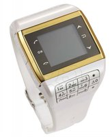 New 1.3 inch Wrist Watch Quad-band GSM Mobile Phone Q5