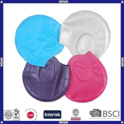 2015 new product cheap ear swim cap