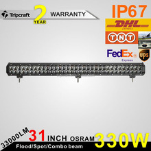 Guangzhou Auto Car Parts 4x4 Accessorie LED Car Light straight 330W LED Driving Light bar 30inch LED Spotlight for Truck SUV ATV