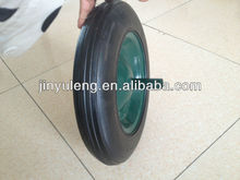 Power solid rubber wheel for wheelbarrow Middle East market