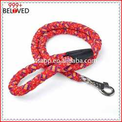 Rope Dog Leash and Collar,Nylon Rope leashes and harness ball pen with rope