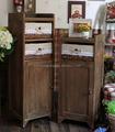 alto grau novo design artesanal personalizado inacabada designs armário de madeira para sala de estar