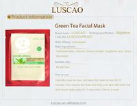 green tea face and neck mask human face masks