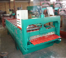 cheap long span roof panel roll forming machine roofing tile machine price