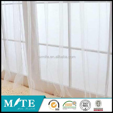 voile fabric curtain wholesale