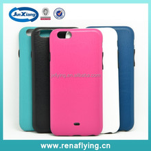 High quality slim back cover leather mobile phone case for iphone 6
