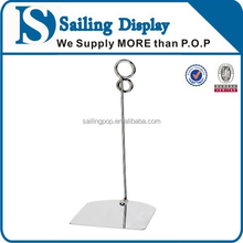 advertsing tabletop metal sign holder,display stand